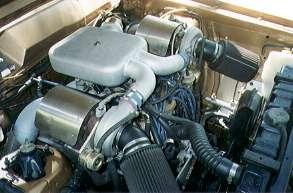 Ray Hall Turbocharging - Ford 351 Windsor twin turbocharged